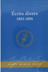 Ecrits divers 1883-1896